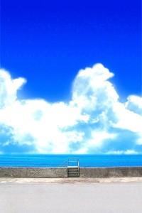 青空の写真
